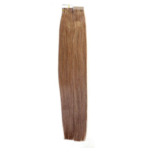 Chestnut Tape-In Extensions