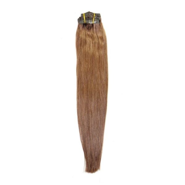 Chocolate Brown Clip-In Extensions